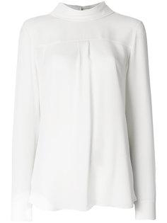 блузка с перевернутым эффектом Theory