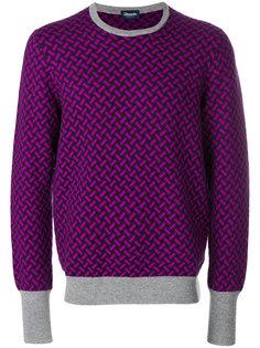 свитер с вышивкой Drumohr