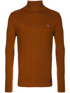 пуловер с отворотной горловиной Bleu De Paname