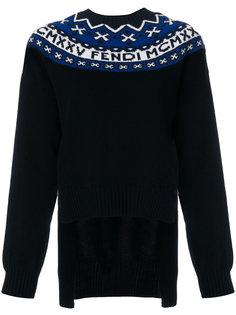 свитер с вышивкой Fendi