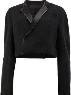 укороченный пиджак свободного кроя Haider Ackermann
