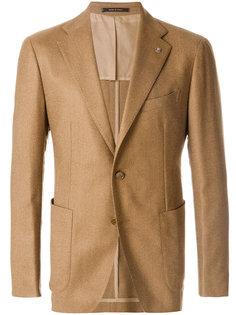 тканый пиджак в стиле casual Tagliatore