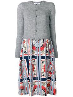 многослойное платье-миди Comme Des Garçons Comme Des Garçons
