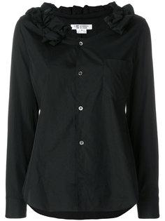 блузка с горловиной с рюшами Comme Des Garçons Comme Des Garçons