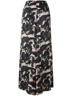 брюки палаццо с принтом LAutre Chose
