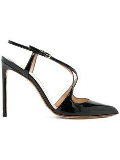 туфли-лодочки с ремешками крест-накрест Francesco Russo