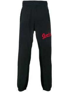 спортивные брюки с вышивкой логотипа Intoxicated