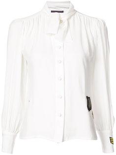 блузка с завязками на бант Harvey Faircloth