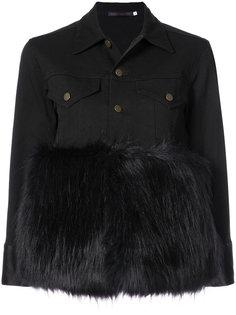куртка с меховой панелью Harvey Faircloth