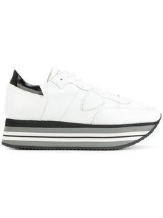 кроссовки на платформе Philippe Model