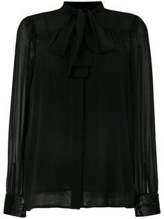 блузка с завязками на бант Michael Michael Kors