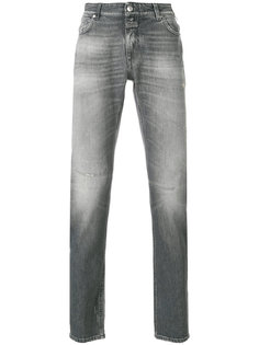 джинсы с потертым эффектом Closed