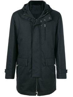 стеганая куртка с капюшоном Corneliani