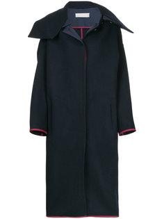 длинное пальто в стиле оверсайз Victoria Beckham