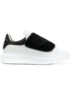 объемные кроссовки с вышивкой Alexander McQueen