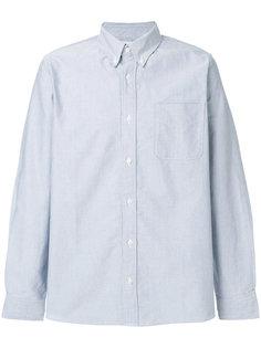 рубашка с контрастными локтевыми заплатками Visvim
