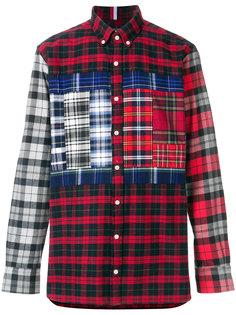 классическая лоскутная рубашка Tommy Hilfiger