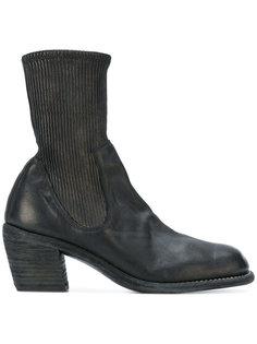 ботинки в стиле вестерн с носком Guidi