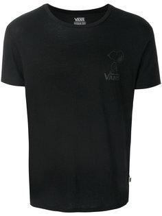 футболка с принтом-логотипом Vans