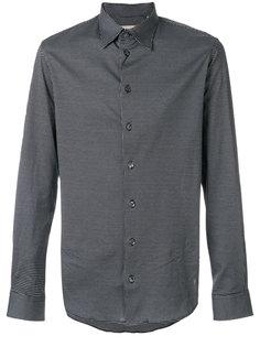 классическая рубашка с принтом Armani Collezioni