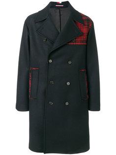 удлиненное пальто с клетку Tommy Hilfiger