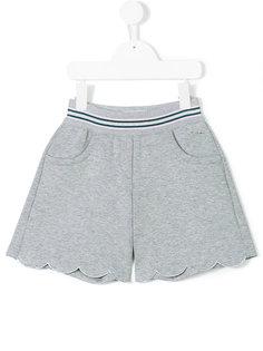 шорты с волнистым подолом Simonetta