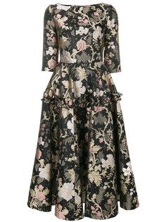 платье с цветочным принтом Piccione.Piccione