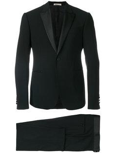 деловой костюм на пуговицах Armani Collezioni
