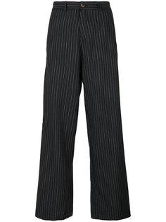 брюки Winter Elvis в полоску Société Anonyme