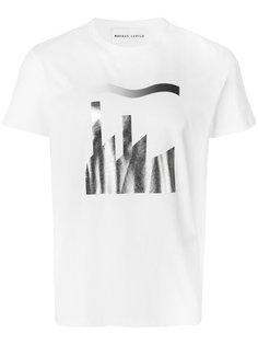 футболка с принтом Alex Markus Lupfer