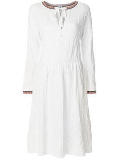 трикотажное платье с цветочным узором M Missoni