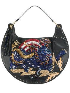 декорированная сумка на плечо Balmain
