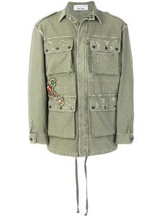 куртка с потертой отделкой Faith Connexion