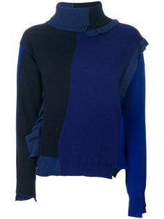 свитер с высокой горловиной Erika Cavallini