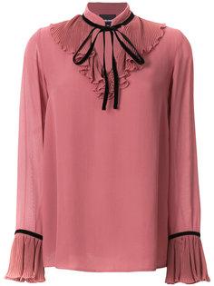 блузка с оборками Just Cavalli