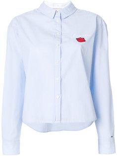 рубашка с вышивкой Tommy Hilfiger