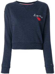 свитер с вышивкой  Tommy Hilfiger
