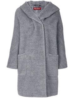 однобортное пальто  Max Mara Studio