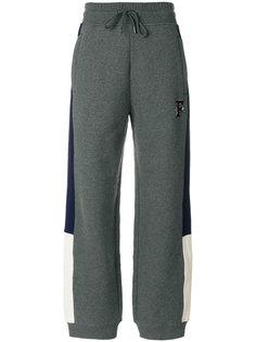 спортивные брюки с панельным дизайном Fenty X Puma
