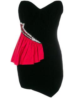 короткое платье-бюстье Lady Gaga Alexandre Vauthier