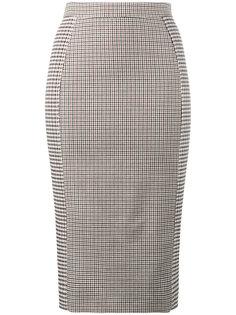 клетчатая юбка-карандаш с завышенной талией Stella McCartney