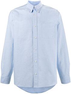рубашка Albacore с клетчатыми локтевыми заплатками Visvim