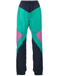 непродуваемые брюки с геометрическим узором Chloé