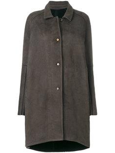 свободное пальто на пуговицах  Isaac Sellam Experience