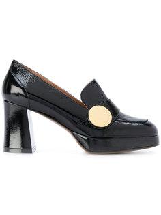 лакированные лоферы на каблуке LAutre Chose