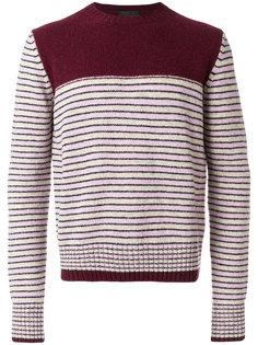 свитер в полоску Prada