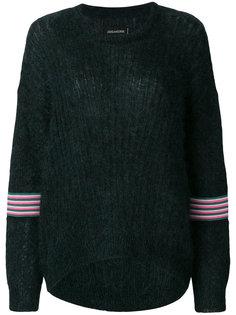 свитер с полосками Zadig & Voltaire