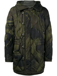 куртка Gaillon с перьевым наполнителем с камуфляжным принтом Moncler