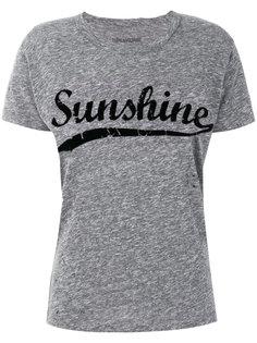футболка с принтом Sunshine Zadig & Voltaire