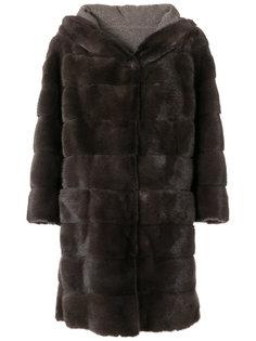 классическое пальто А-образного силуэта Arma